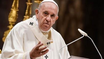 Papa'dan Filistin-İsrail açıklaması: Bu kabul edilemez