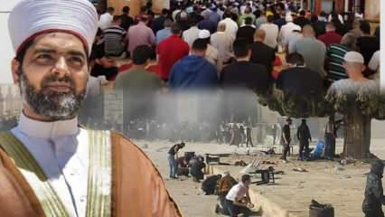 İsrail Mescid-i Aksa'ya saldırdı! Yüzlerce yararlı, İslam dünyasına acil yardım çağrısı
