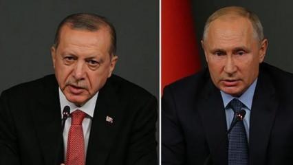 Son dakika: Kudüs için asker teklifi! Erdoğan ve Putin'den görüşme
