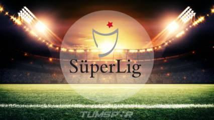 Süper Lig'de 6 maçın saati değiştirildi!