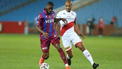 Trabzonspor'a Djaniny ve Flavio'dan kötü haber