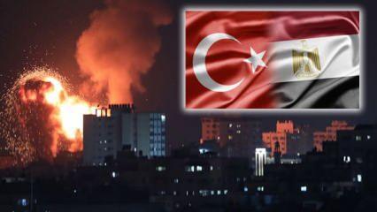 Türkiye ile Mısır'dan İsrail görüşmesi! Arap Birliği, BM, AB ve İngiltere'den açıklama
