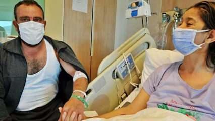 Tatile diye hastane şokuyla karşılaşan İpek Koca'ya eşi böbreğini verdi!