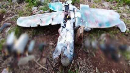 PKK'lı teröristlerin maket uçaklı saldırısı engellendi
