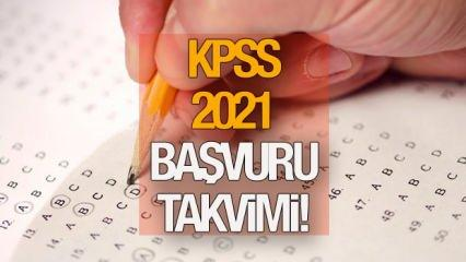 2021 KPSS başvuruları ne zaman? ÖSYM memur adayları için takvimi duyurdu!