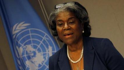 ABD'nin BM Daimi Temsilcisi Greenfield'den iki yüzlü Filistin açıklaması