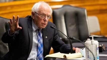 ABD'li senatör Sanders'ten İsrail tepkisi