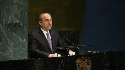 Bakan Çavuşoğlu: İsrail Gazze'yi dünyanın en büyük açık hava hapishanesine dönüştürdü