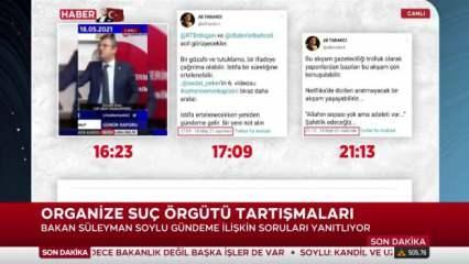 Bakan Soylu, Sedat Peker'le muhalefetin kurduğu tezgahı deşifre etti!