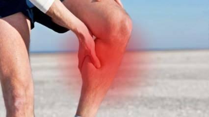 Baldır ağrısı neden olur? Bacaklarda dinlenirken baldır ağrısı ve sızlama nasıl geçer?