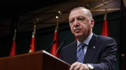 Başkan Erdoğan, isim vermeden Sedat Peker'in iddialarına değindi