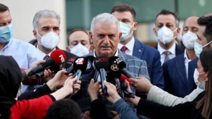 Binali Yıldırım'dan Sedat Peker'in iddialarına cevap!
