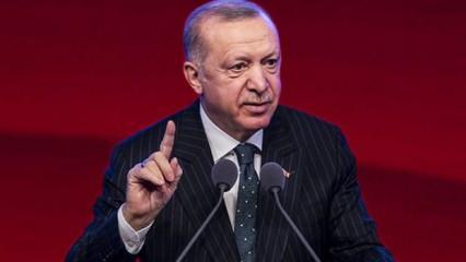 Cumhurbaşkanı Erdoğan'dan Filistin açıklaması: Gerekirse bedel öderiz