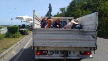 Doğu Karadeniz'de 30 bin kişiye uyarı!