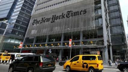 New York Times'ta tam sayfa İsrail rezaleti!