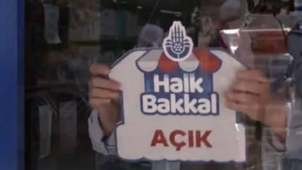 İBB Başkanı İmamoğlu, Halk Bakkal ile Bursa Büyükşehir'in projesini kopyaladı