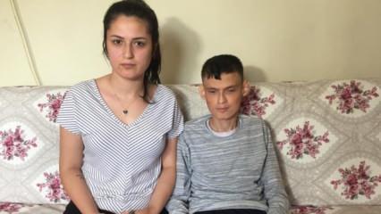 Adana'da görme engelli gencin isteği kız kardeşini görmek ve askere gidebilmek!