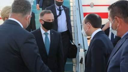 Polonya Cumhurbaşkanı Duda Ankara'da