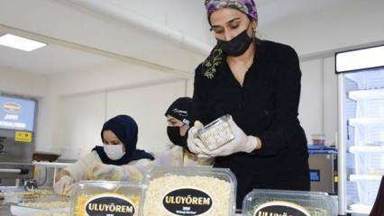 Şırnak'ta kadınlar el emeğiyle hazırlıyor, hedef Türkiye'ye satmak!