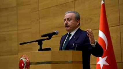TBMM Başkanı Şentop: Yunanistan'ın söylemlerini kınıyoruz