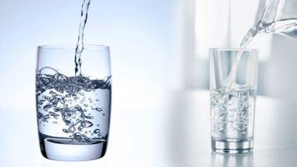 Uzmanlardan sıcak hava uyarısı: Günde 2.5 litre su içmek şart!