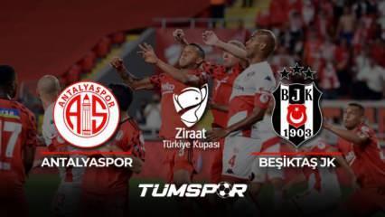 ZTK Antalyaspor Beşiktaş maçı geniş özeti ve golleri (A Spor) Kara Kartal'dan 3 günde 2 kupa!