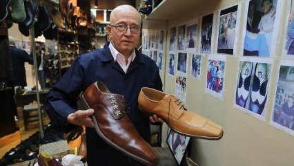 Beyoğlu'nda 32 yıldır dev ayaklara ayakkabı yapıyor!