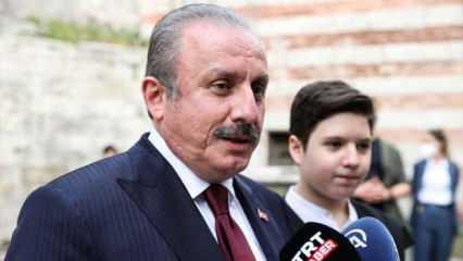 TBMM Başkanı Şentop'un oğlu Ömer Asım da hafızlık icazetini aldı
