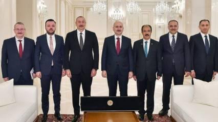 Aliyev'den Zengazur koridoru açıklaması