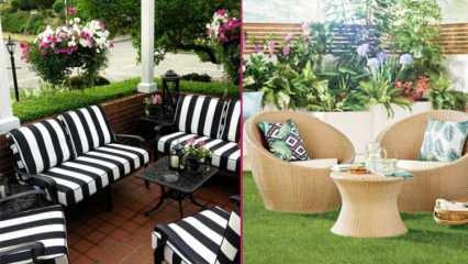 Balkon ve teraslar için uygun mobilya ürünleri