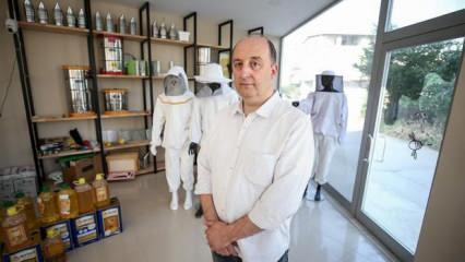 Bursa'da Civan ailesi 4 kuşaktır arıcılıkla dünyanın dört bir yanına ihracat yapıyor