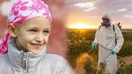 Çocuk lösemisinde gizli zehir: Pestisit