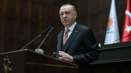 Cumhurbaşkanı Erdoğan'dan büyüme açıklaması