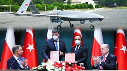 Erdoğan ve Duda imzayı attı! Polonya Türkiye'den 24 adet SİHA satın aldı
