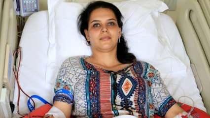 Kocaeli'de genç kadın kök hücre bağışıyla 3 yılda 2 bebeğe 'hayat' verdi