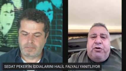 Sedat Peker'in hedef gösterdiği Halil Falyalı: Ne Binali Bey'i ne de oğlunu tanıyorum