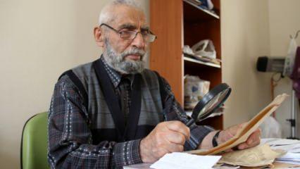 Sivas'ta dedesinden öğrendiği mesleği 50 yıldır sürdürüyor