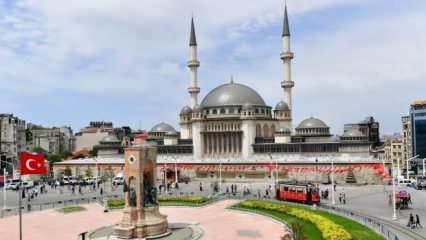 Taksim Camii bugün ibadete açılıyor