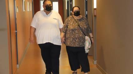 İzmir'de süper obez çift tüp mide ameliyatıyla 1 ayda 25 kilo verdi