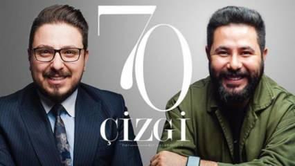 """""""70 Çizgi"""", Türkiye'deki ünlü iş insanlarının yaşamlarını okuyucularla buluşturuyor"""