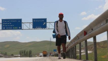 İnsan ve hayvan hakları için 3 ayda Iğdır'dan Çanakkale'ye yürüyecek!
