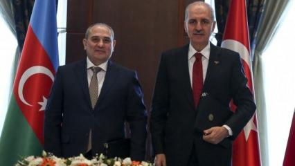 AK Parti'den Yeni Azerbaycan Partisi ile iş birliği protokolü