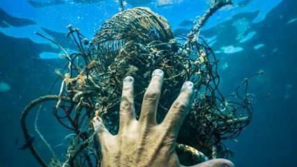 Denizlerimizin kâbusları bitmiyor! Şimdi de hayalet ağlar...