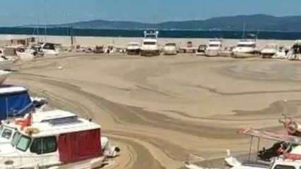 Marmara Denizi çöle döndü!