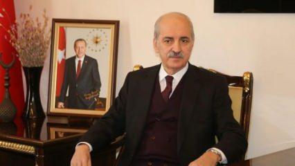 """Numan Kurtulmuş: """"Biz Türkiye'yi sadece Türkiye'den ibaret görmüyoruz"""""""