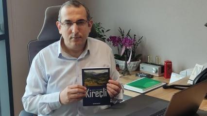 Şentürk Kaplan'ın kitabı 'Ortak Sevdamız Kireçli' çıktı
