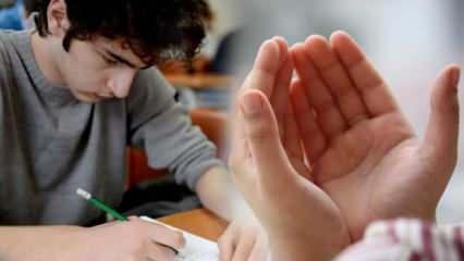 Sınava girerken okunacak dualar! Zihin açıklığı ve unutkanlığı önleyen dua ve sureler! LGS…
