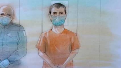 Kanada'da Müslüman aileden 4 kişiyi şehit eden terörist hakim karşısında