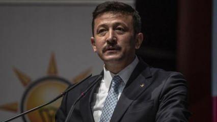 AK Partili Hamza Dağ'dan Şık'a tepki: Bu zihniyetle mücadele etmeye devam edeceğiz!