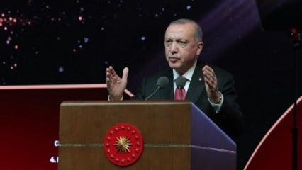 Başkan Erdoğan'dan Cengiz Aytmatov mesajı